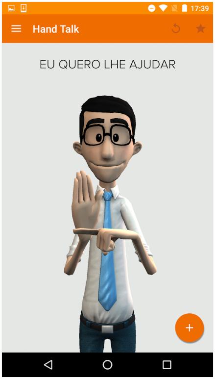 Hand Talk - Tradutor para Libras (Língua Brasileira de Sinais) - Pesquisa -  Portal do Consumidor